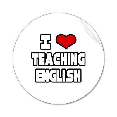 I love teaching englishj